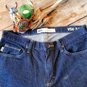 *2/$20 Vans Mens V56 straight leg jeans 32/30